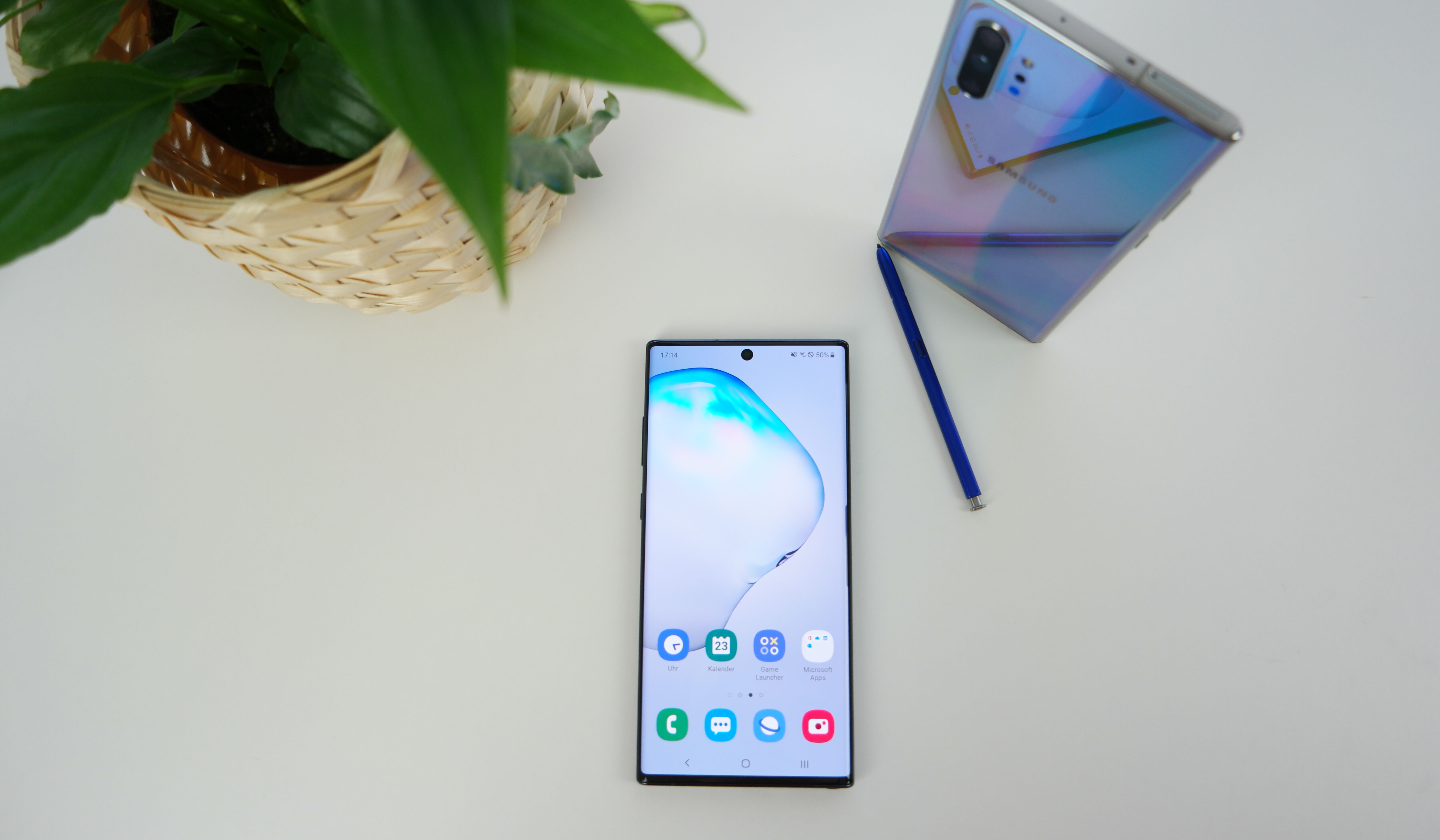 Galaxy Note 10+ im Test: Das Display