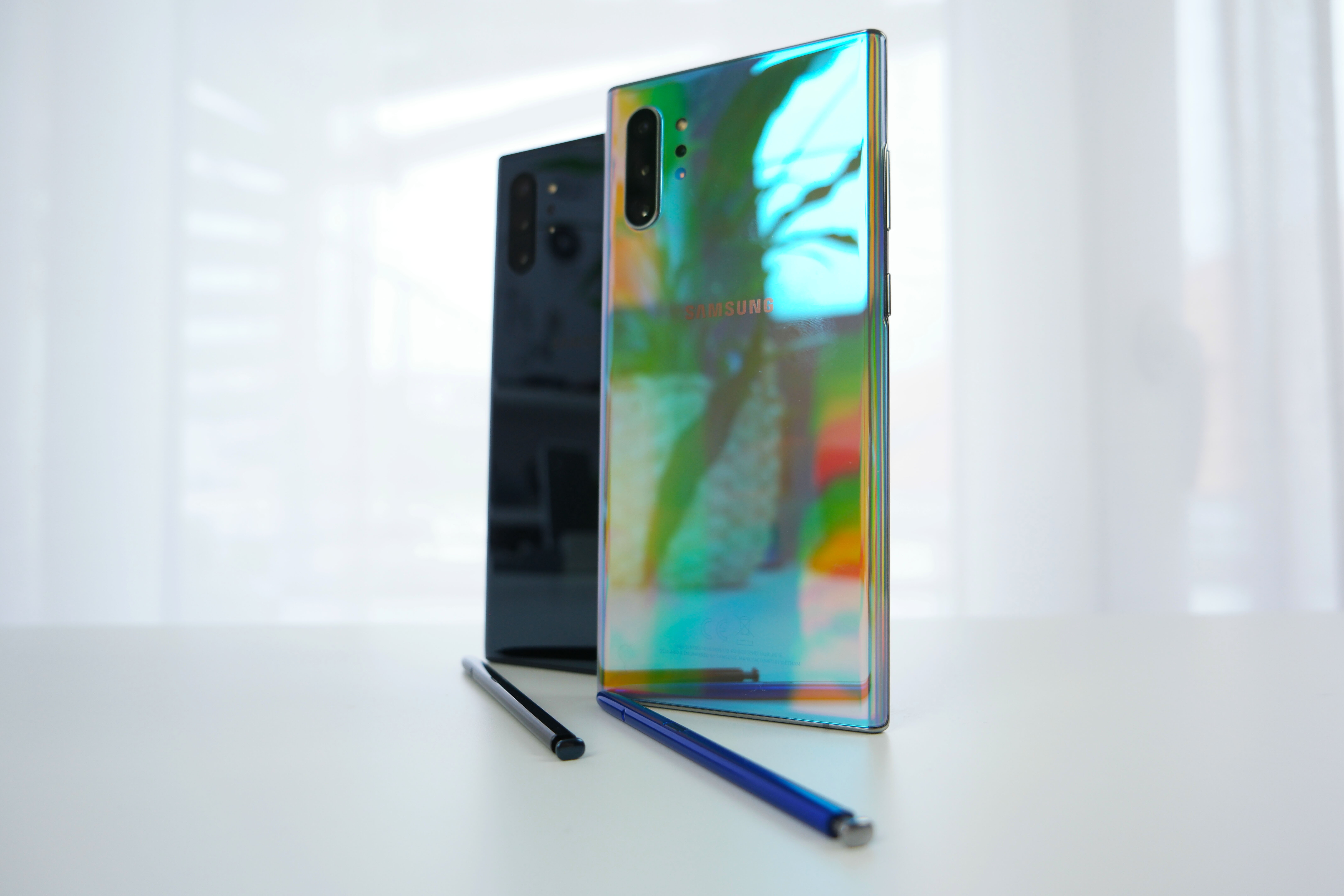 Galaxy Note 10+ im Test: Aura Glow