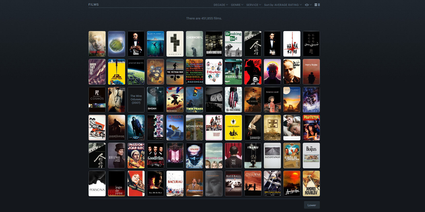 Screenshot of Letterboxd by Paul Asbahr