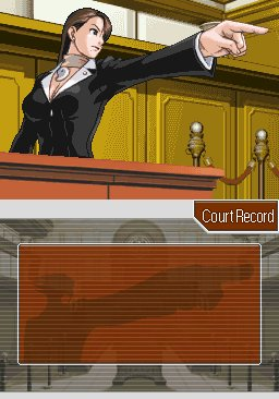 Mia Fey im Gerichtssaal