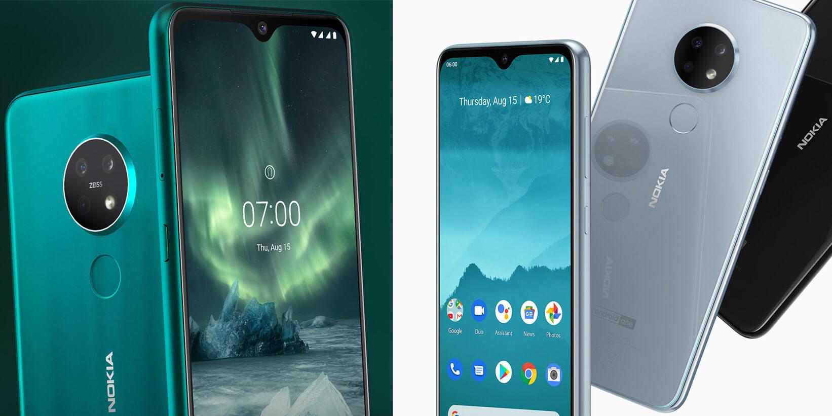 Die besten Smartphones der IFA 2019: Das Nokia 7.2 und Nokia 6.2 - Image by HMD Global
