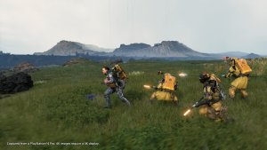 Action-Elemente in Death Stranding