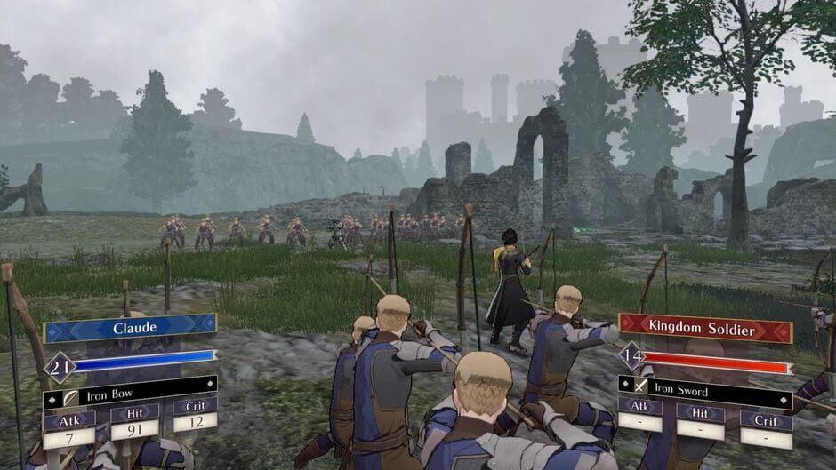 Auf dem Schlachtfeld