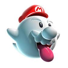 Mario als Geist