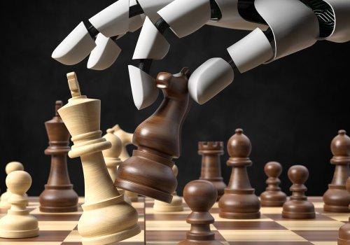 Ein Schach spielender Roboter