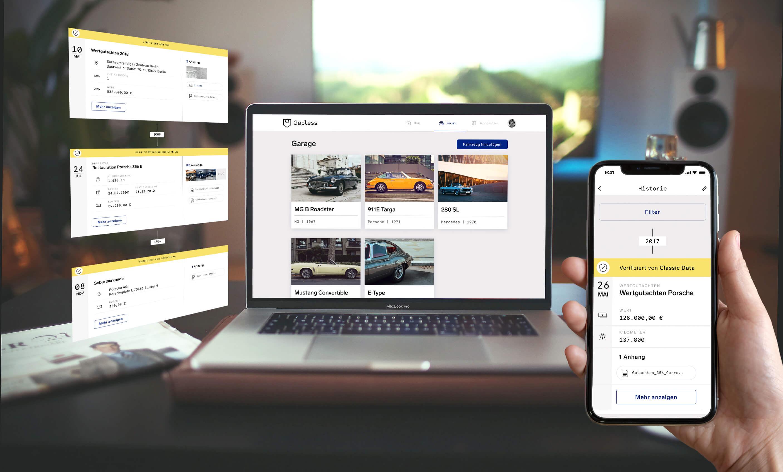 Gapless App für Desktop und Mobile
