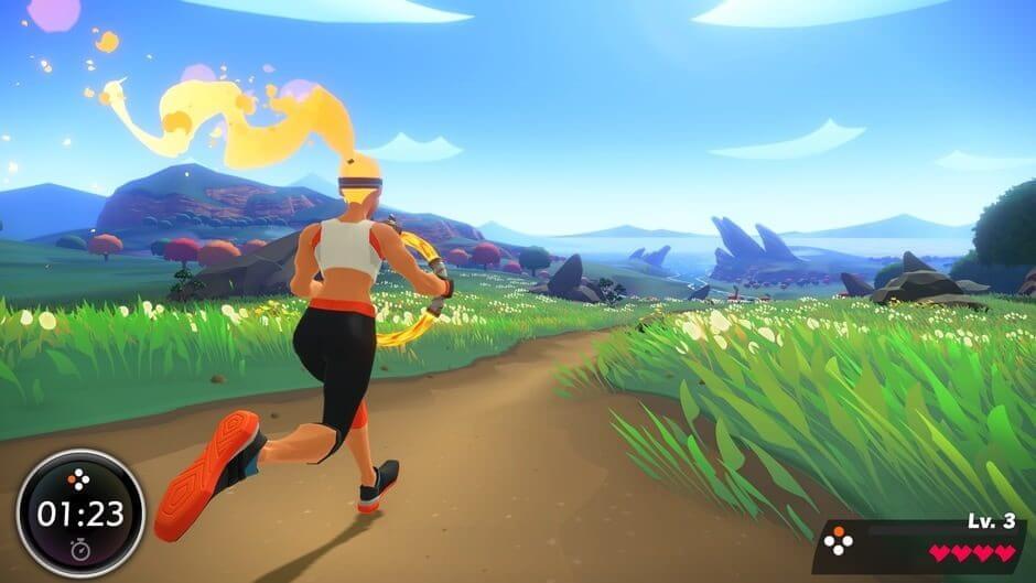 Laufen in Ring Fit Adventure
