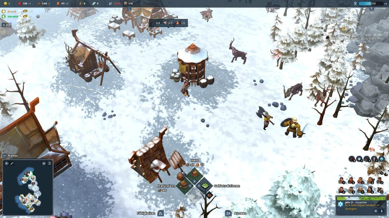 Winter Screenshot of Northgard / Image by Shiro Games