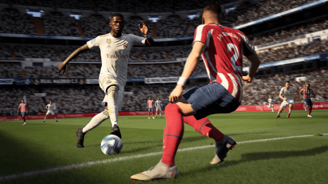 Vinicius Jr. in FIFA 20