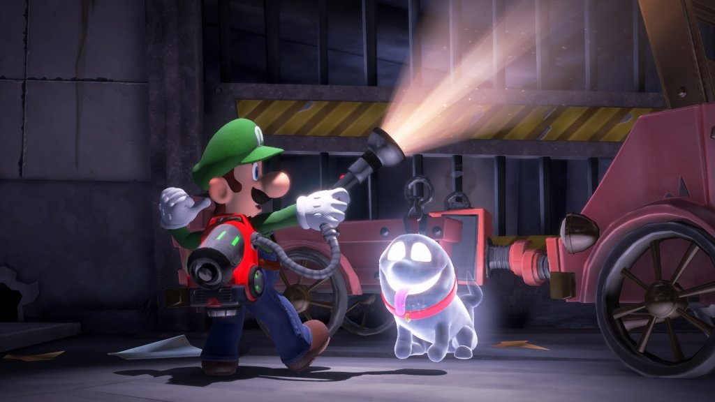 Screenshot aus Luigis Mansion 3