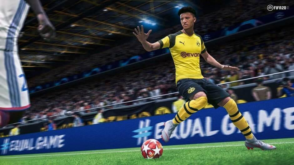 Jadon Sancho in FIFA 20