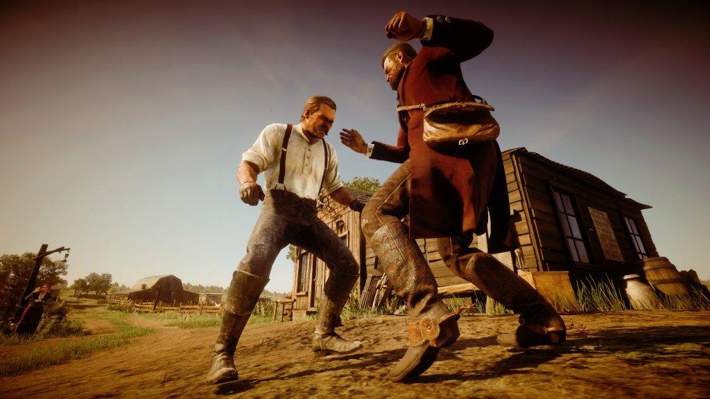 Westernfilter auf ein Bild