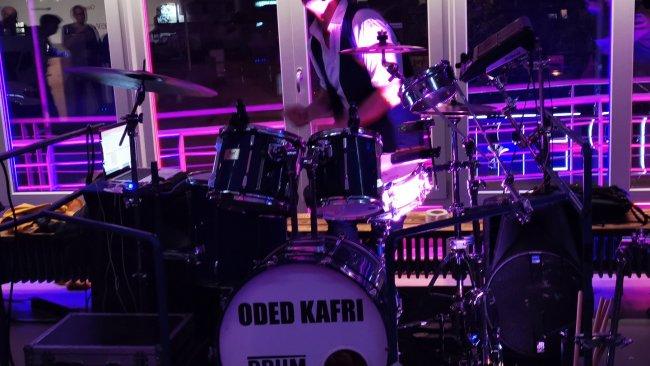 Drummer Oded Kafri