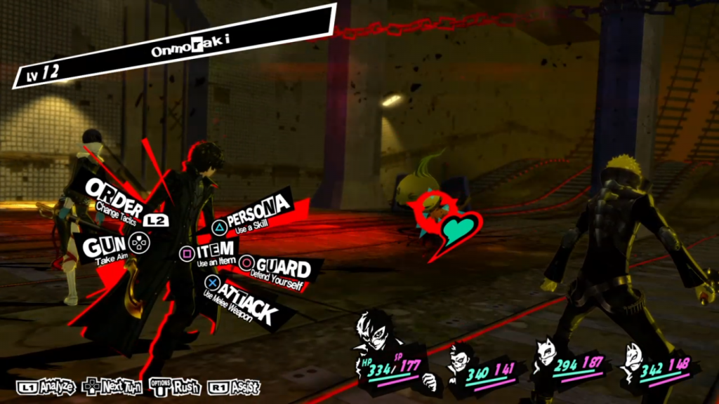 Kampf in Persona 5
