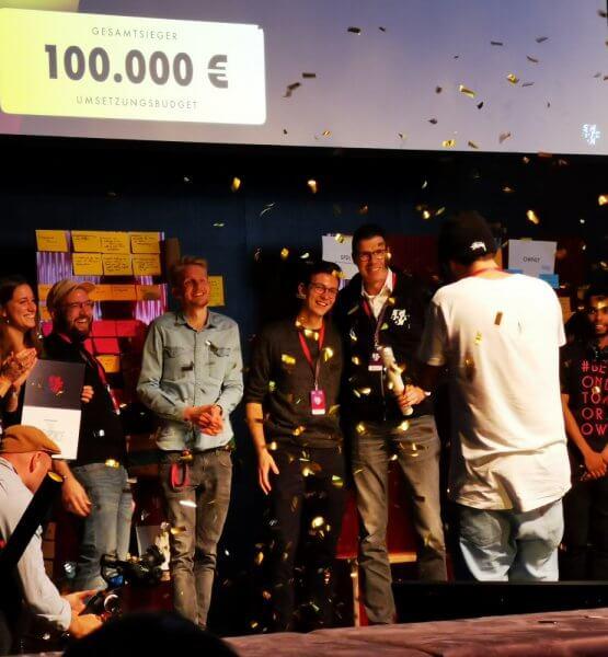 Das Siegerteam Techforce