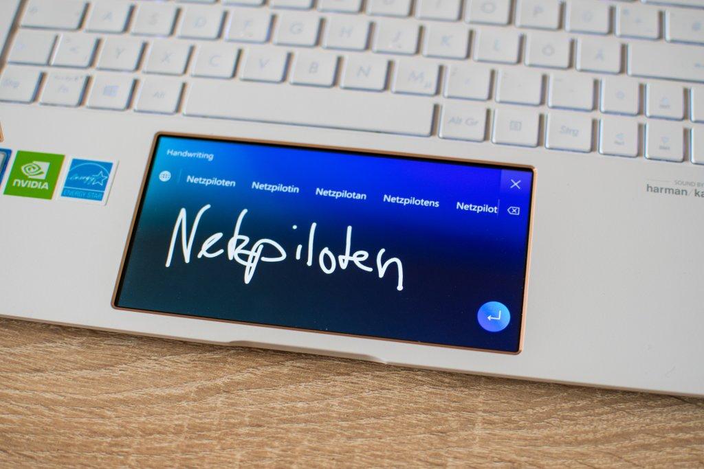 Das Screenpad des Zenbook.