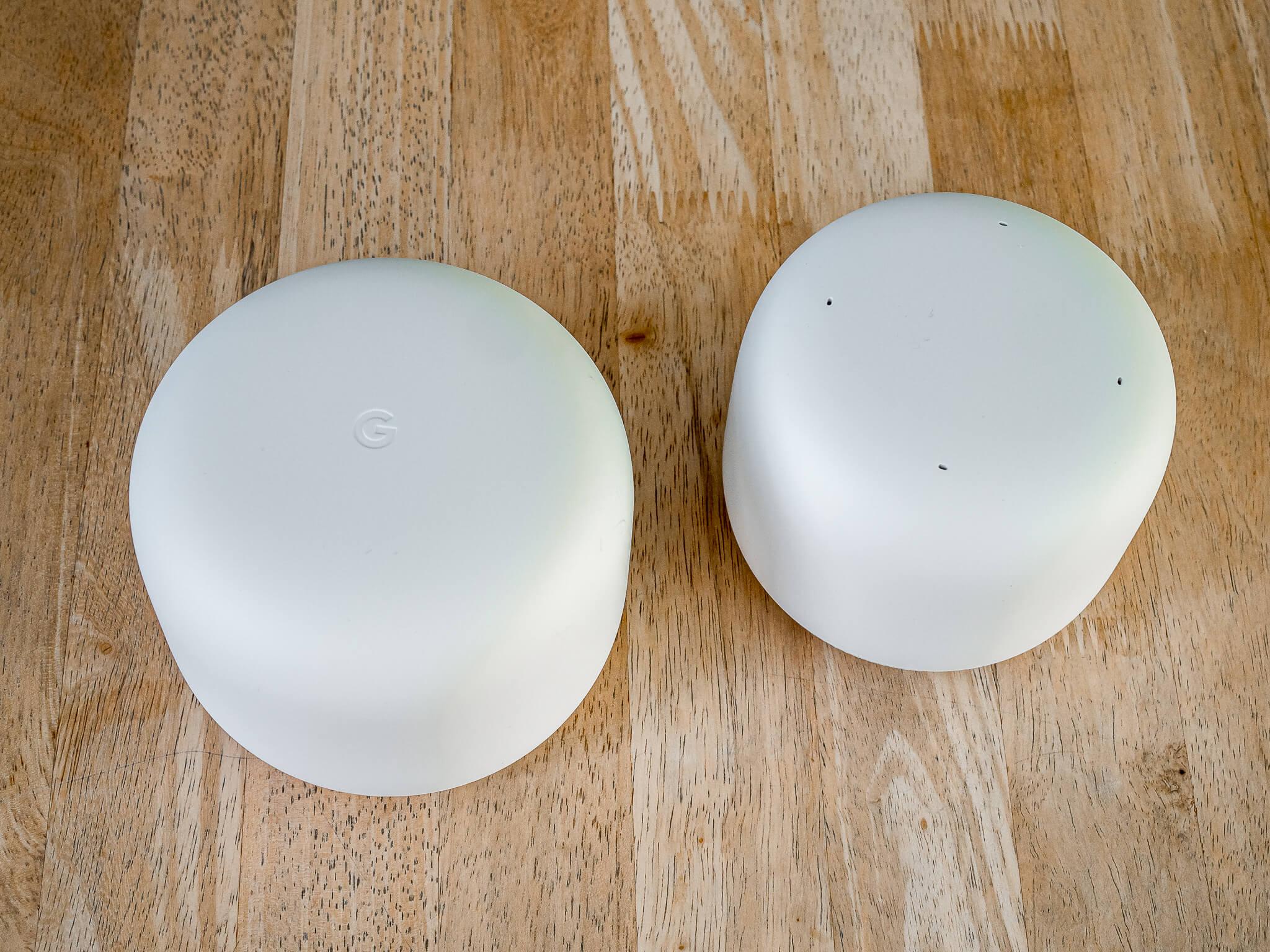 Google Nest Wifi Router und Zugangspunkt