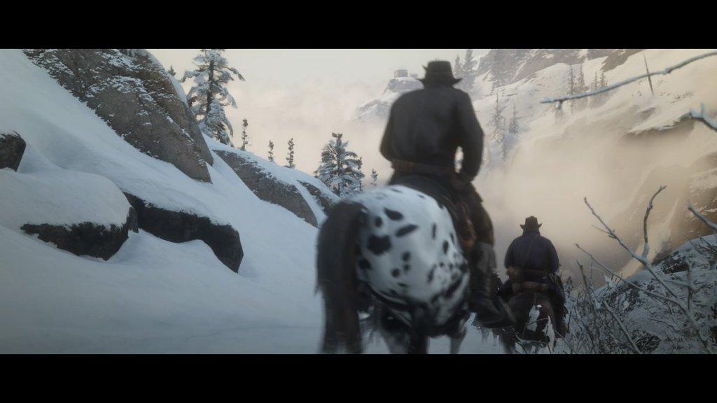 Screenshot aus Red Dead Redemption 2 von Rockstar Games, gemacht von Stefan Reismann.