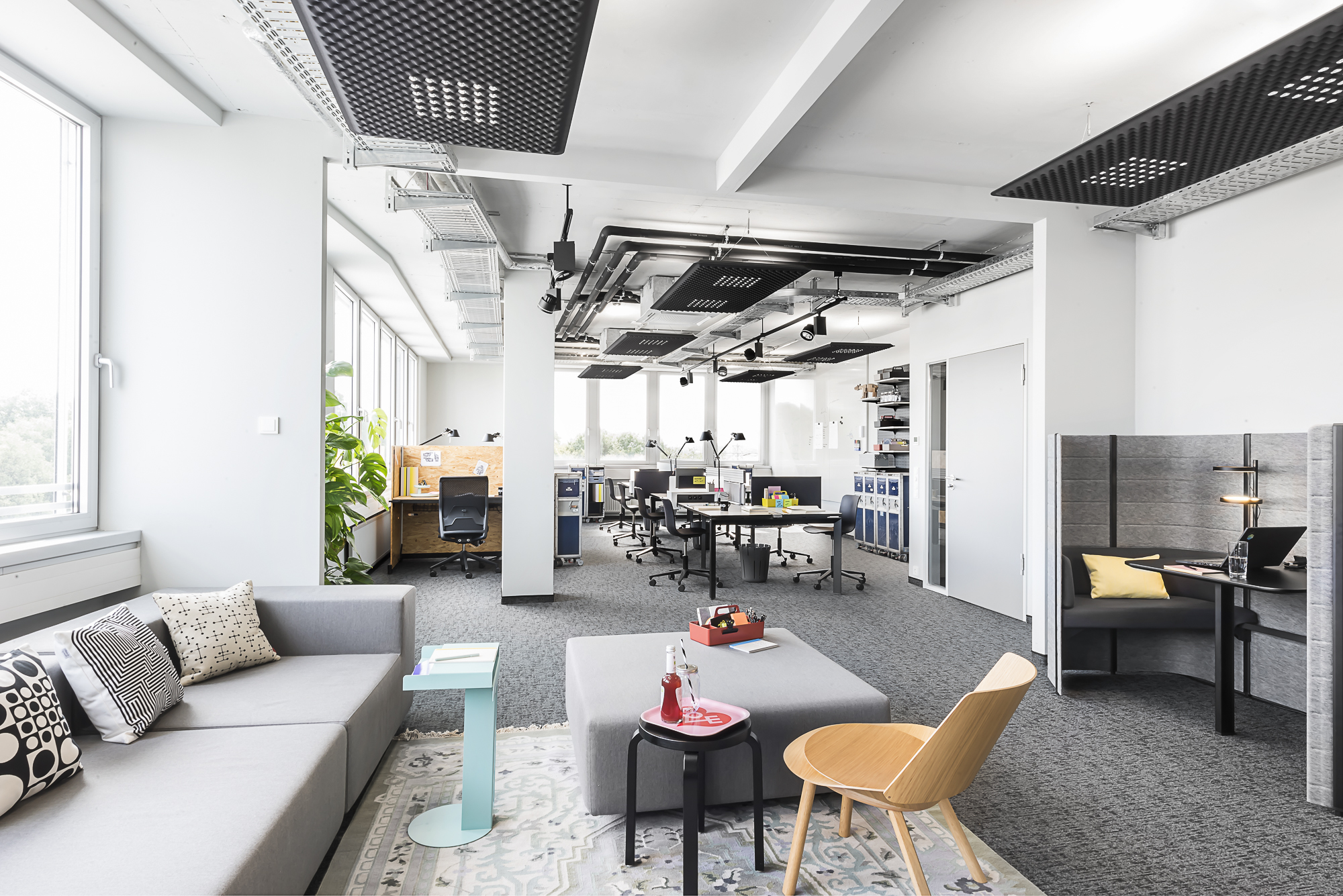 Work Loft für Corporate Coworking von Design Offices