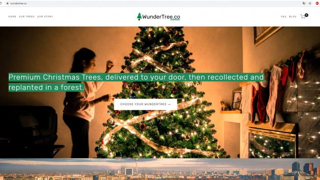 Screenshot derSeite Wundertree / angefertigt von Moritz Stoll