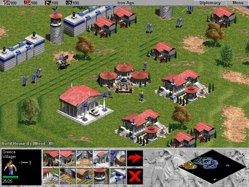 Screenshot von Age of Empires 1