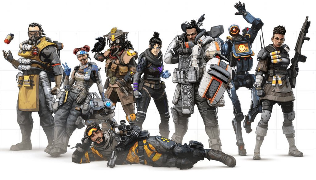 Apex Legend Image by EA via Igdb.com