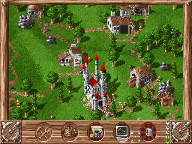 Das erste Siedler Spiel