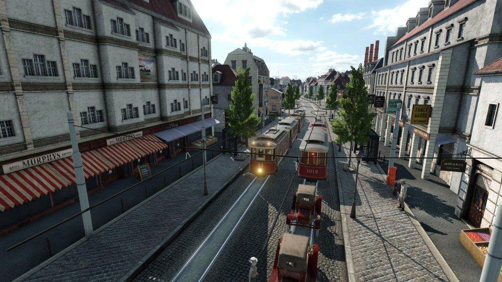 Stadt gegen 1920.