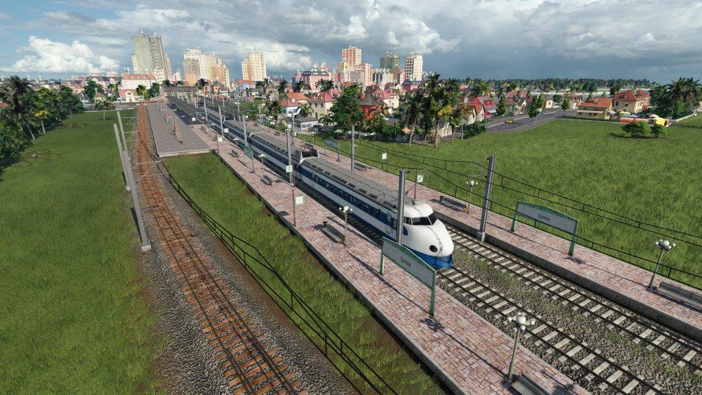 Ein Shinkansen-Zug