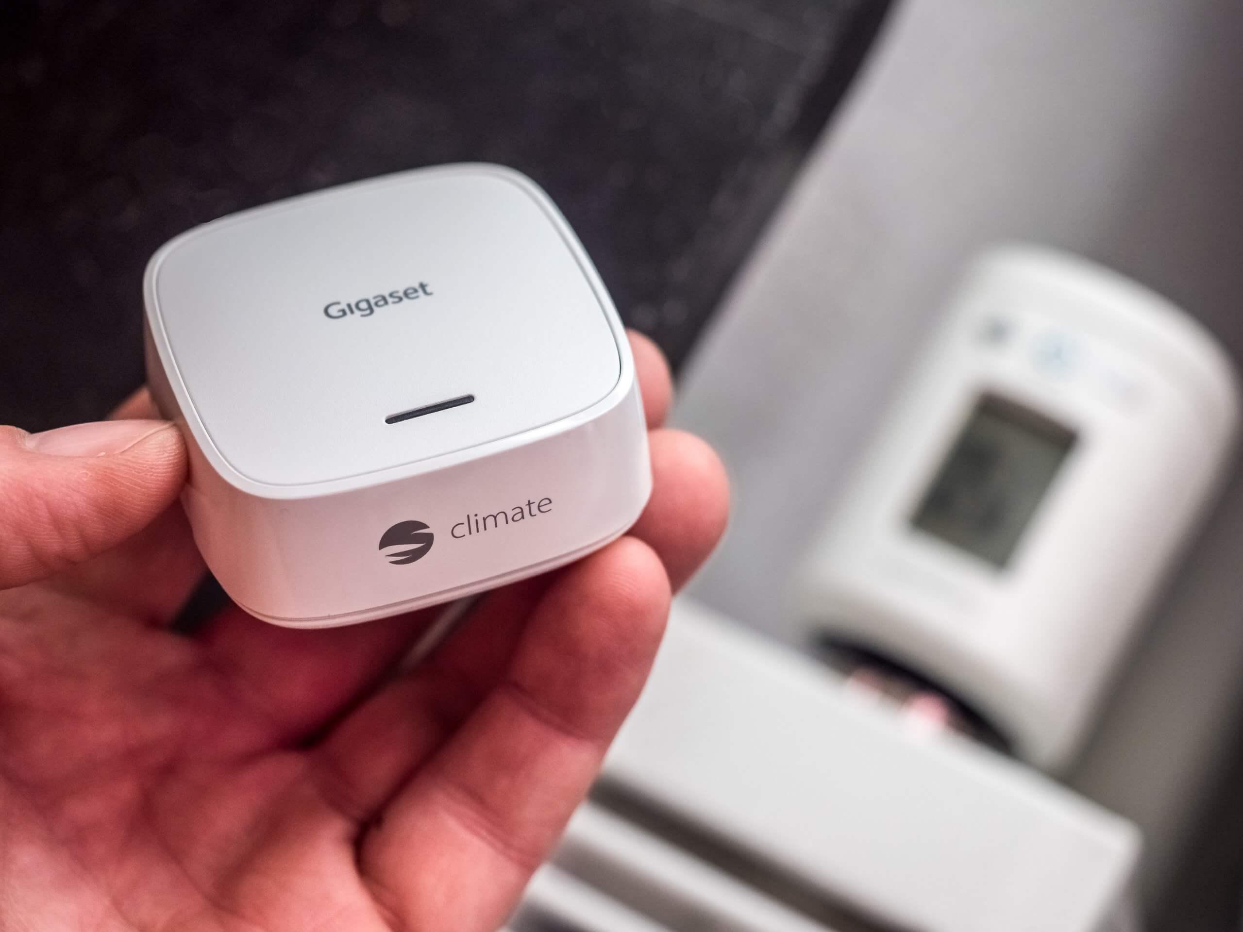 Gigaset Climate mit Gigaset Smart Thermostat