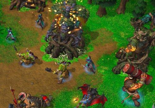Spielszene aus Warcraft 3 Reforged