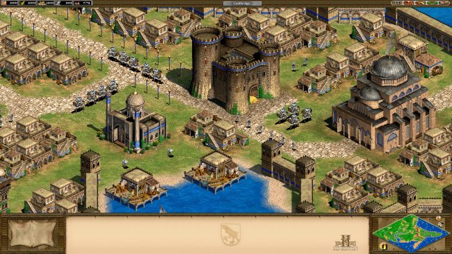 Screenshot aus Age of Empires 2: HD - Image by Microsoft via IGBD.com