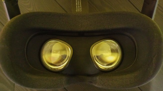 Innenansicht der Oculus Quest / Image by Moritz Stoll