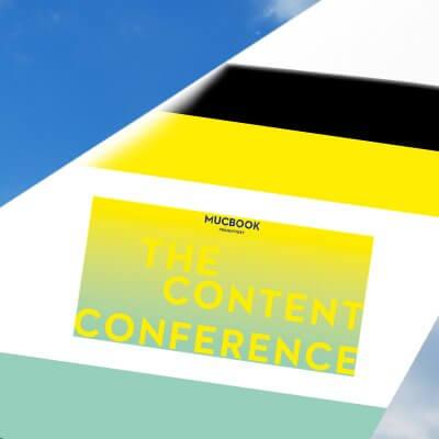 The Content Conference Mucbook - Partnergrafik