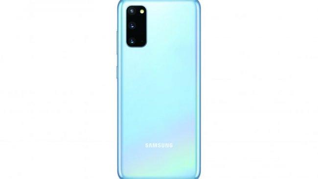 Die Rückseite des Galaxy S20. / Image by Samsung