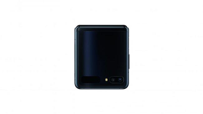 Galaxy Z Flip im zugeklappten Zustand / Image by Samsung