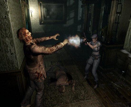 Jill Valentine im Remake von Resi 1. Image by Capcom via igdb.com