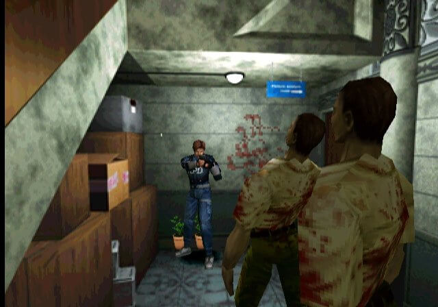 Leon S. Kennedy in Resident Evil 2. Image by Capcom via igdb.com