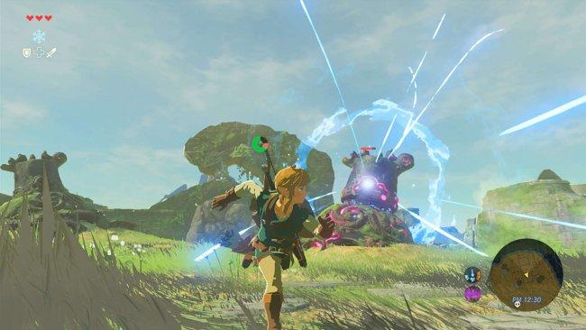Link vs. Wächter. Image by Nintendo via igdb.com