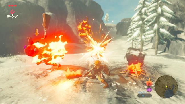 Die Kämpfe in Breath of the Wild sind eine eigene kleine Sandbox.Image by Nintendo via igdb.com