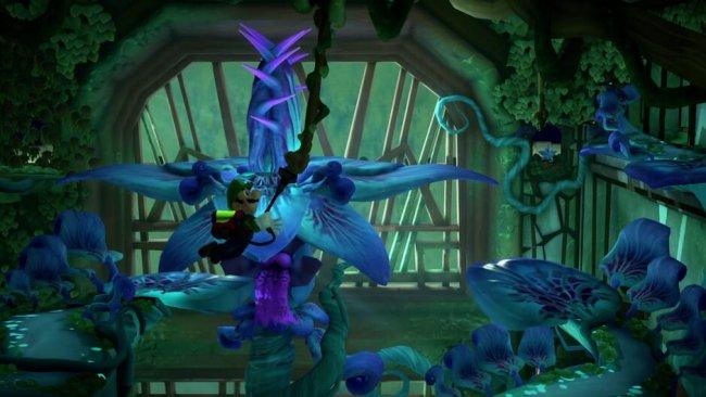 Das Gewächshaus in Luigis Mansion 3. Image by Nintendo via igdb.com