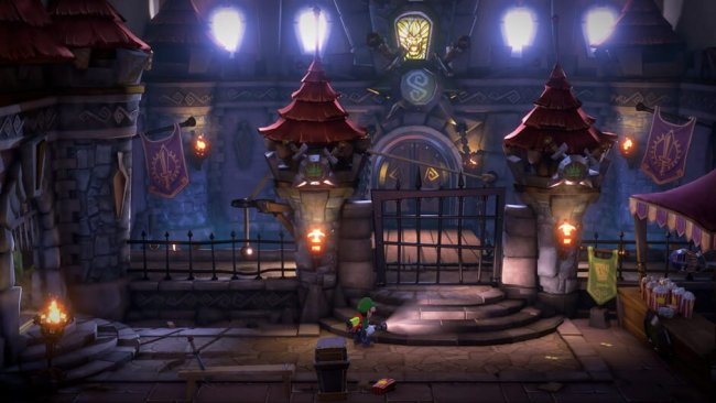 Das Mittelalter-Level aus Luigis Mansion 3. Image by Nintendo via igdb.com