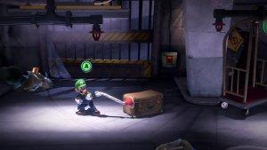 Der Pömpel ist eine neue Fähigkeit. Mit dem Pömpel kann Luigi Gegenstände durch die Gegend schleudern. Image by Nintendo via igdb.com