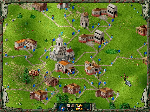 Eine römische Siedlung in Siedler 2