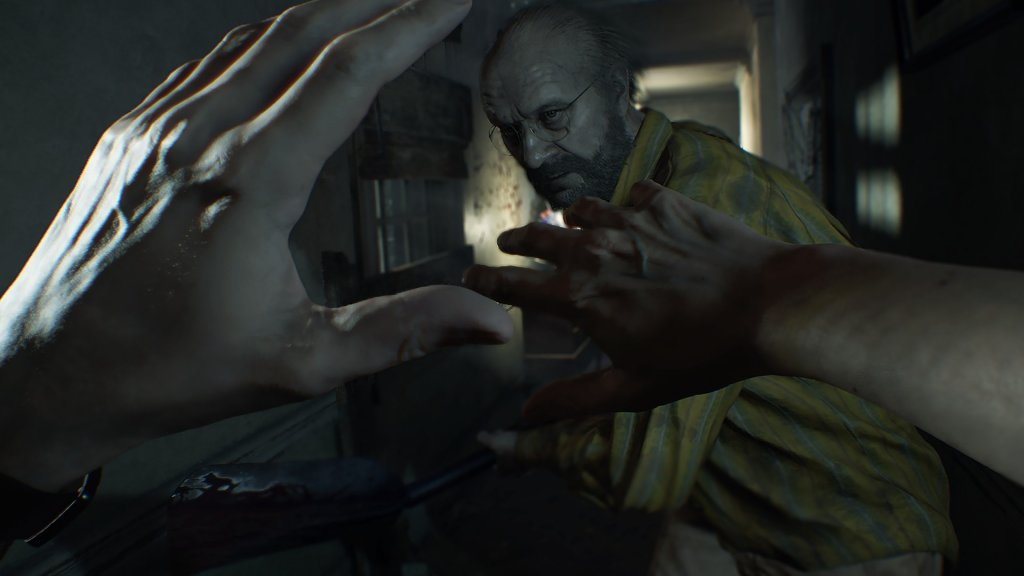 Ethan Winters in Resident Evil 7. Image by Capcom via igdb.com