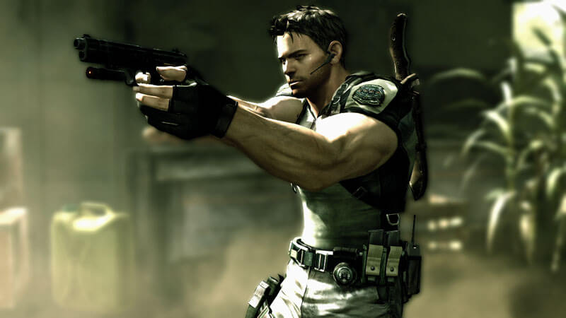 Chris Redfield in Resident Evil 5. Image by Capcom via igdb.com