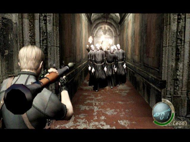 Resident Evil 4 und ein Raketenwerfer. Image by Capcom via igdb.com