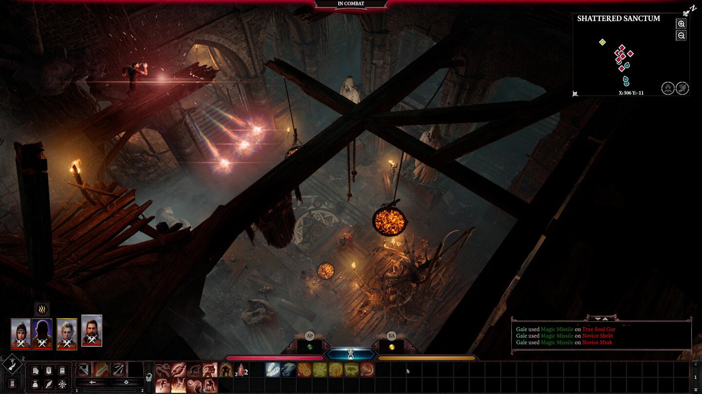 Ein weiter Kampf in Baldur's Gate 3