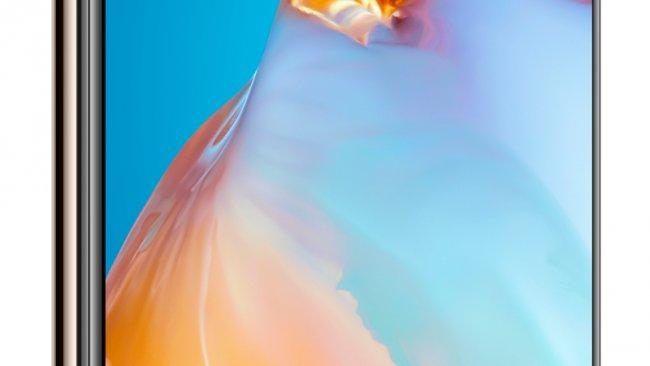 Vorderseite des Huawei P40 / Image by Huwei