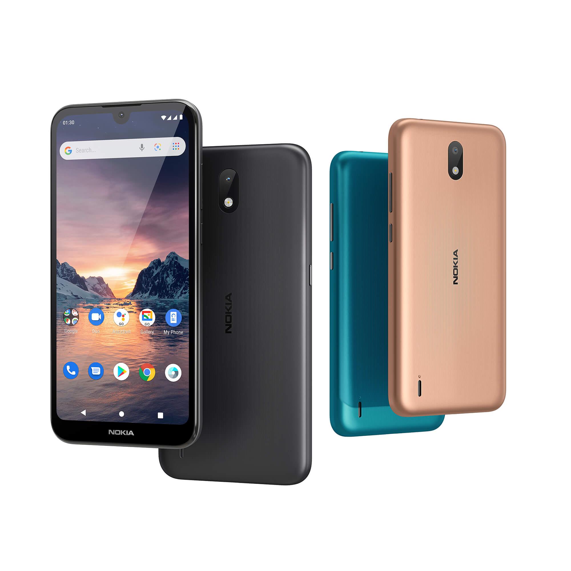 Nokia 1.3 alle Farben
